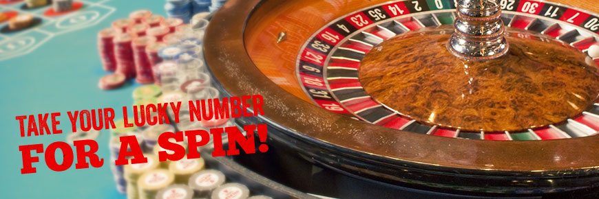 Take Your Lucky Number For A Spin!